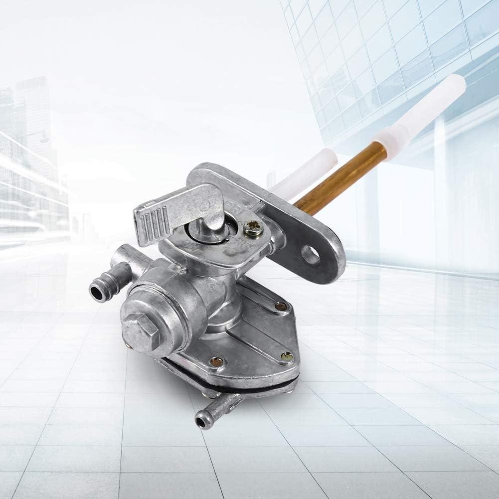 v/álvula de grifo de combustible Ensamblaje del interruptor de la llave de paso V/álvula del interruptor del carburador para 96-03 GSF600S GSF1200 Interruptor de combustible del autom/óvil