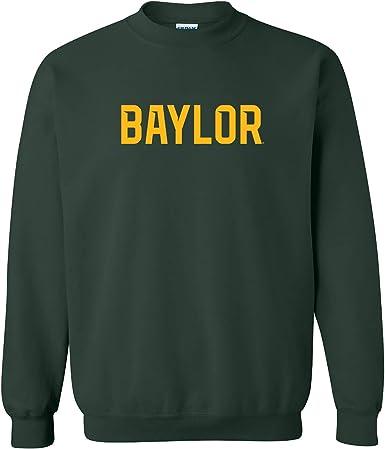 University NCAA Basic Block College Team Color Crewneck