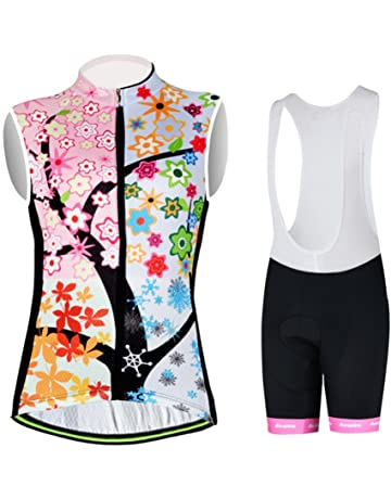 Aogda Cycling Vests Jerseys Women Bike Shirts Biking Sleeveless Clothing  Ladies Bicycle Tights 1844bd829