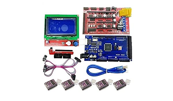 UsongShine Kit de controlador de impresora 3D para Arduino Mega ...