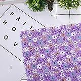 100 PCS Cotton Craft Fabric Bundle Squares