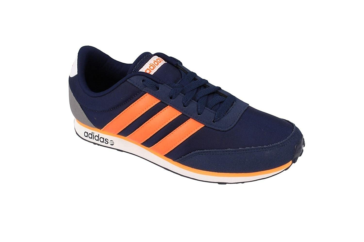 Buy Adidas NEO Men Navy V Racer Leather Sneakers (10UK) at Amazon.in