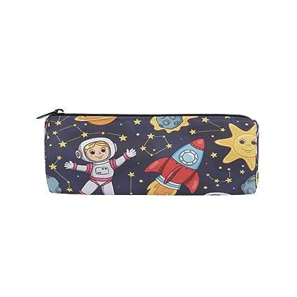 Ahomy Estuches para lápices Astronaut Sun Moon con ...