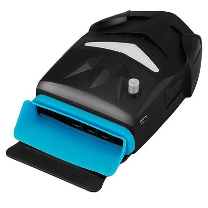 Johnson - Refrigerador portátil para ordenador portátil con ventilador absorbente de alta potencia