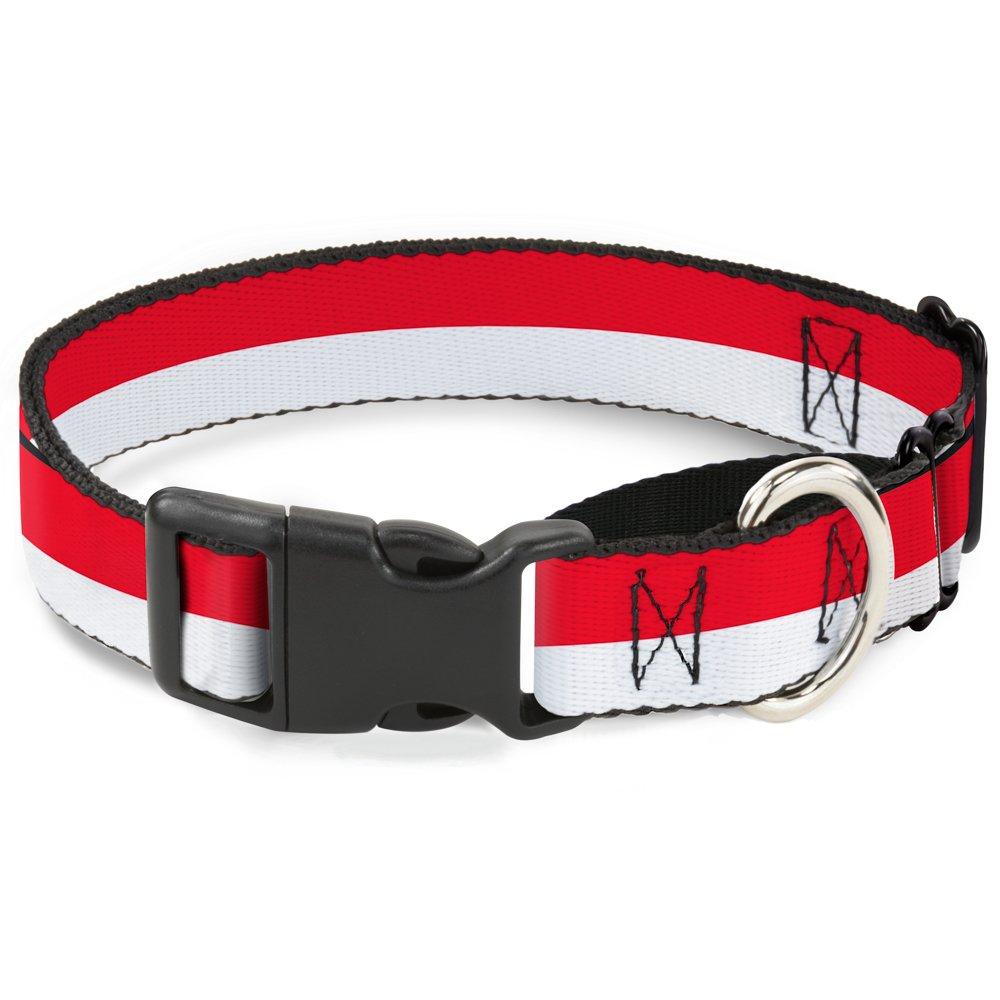 Buckle Down North Carolina Flag Distressed/Black Martingale Dog Collar