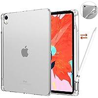iPad Air 3 Kılıf A2152 A2123 A2153 A2154 Şeffaf Silikon + Kalem Yuvası