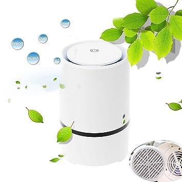 Express Panda® Desktop Air Purifier HEPA Humidifier Ionizer With Air Filter  Technology   Portable Air