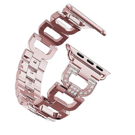 Bracelet Apple Watch 38mm Series 3 Femme Rose,Bracelet Apple Watch Serie 3  Bracelet iWatch