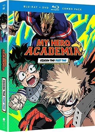 Amazon com: My Hero Academia: Season Two Part Two [Blu-ray