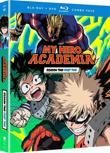 Blu-ray : My Hero Academia: Season Two - Part Two (With DVD, Boxed Set, Subtitled, 4PC)
