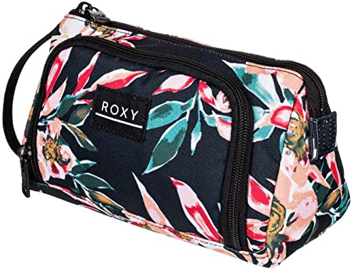 Roxy ENJOY MALIBU, Estuche para lápices o maquillaje. para Mujer, Color gris antracita Wonder Garden S, Medium: Amazon.es: Zapatos y complementos