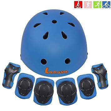 Amazon.com: Lanova - Casco infantil para niños de 3 a 8 años ...