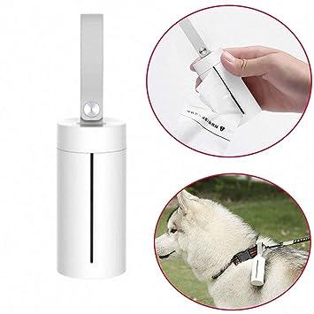 Haolv Perro para Mascotas con Bolsas de Caca Caja de Basura ...