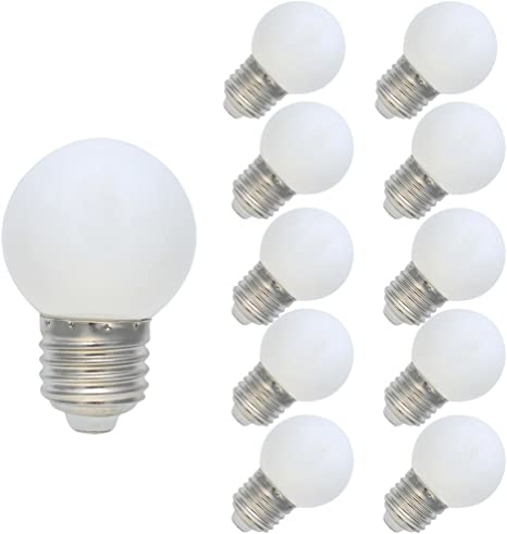 LED Partybeleuchtung E27 3W Mini LED Birne Glühlampe Dekor Farbauswahl