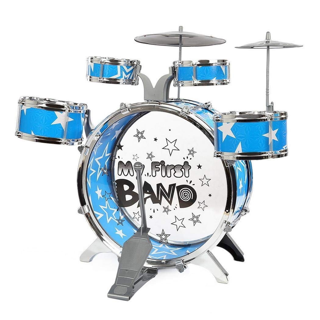 FastDirect Childrens Simulation Drum Set Fighting Jazz Musical Toys Drums /& Percussion