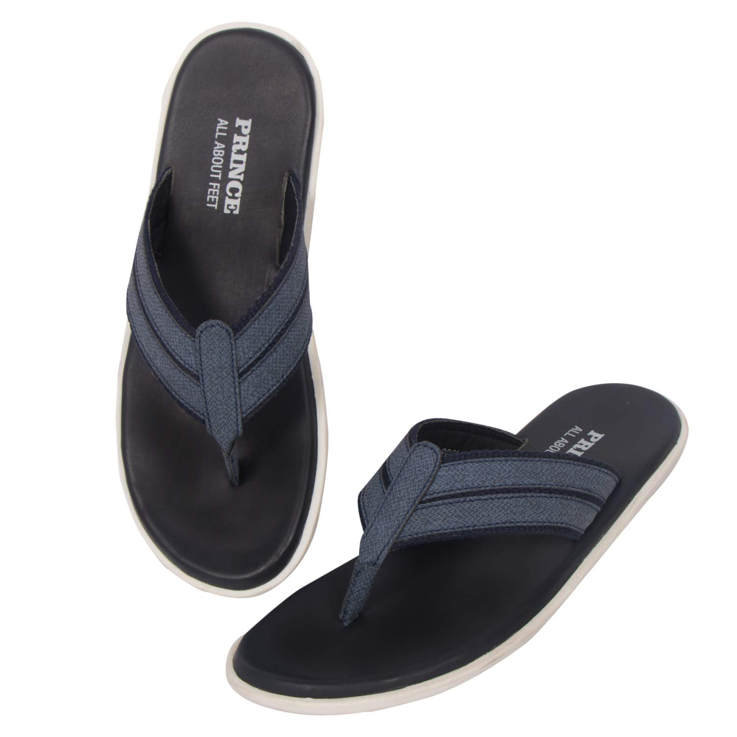 Buy Prince Casual Blue Color Sandals