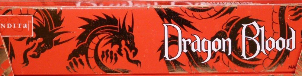 Nandita Dragon Blood 15g お香スティック 3箱パック   B0119A5P4A