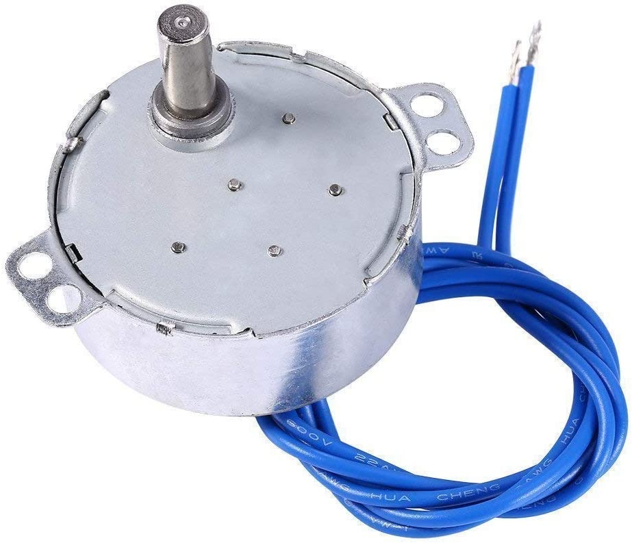 5-6RPM Cuptisserie,Tumbler Cup Rotator,Drying the epoxy,Rod Dryer Turntable Synchronous Synchron Motor 50//60Hz AC100~127V CCW//CW 4W with 7mm Flexible Coupling Connector Direction for Cup Turner