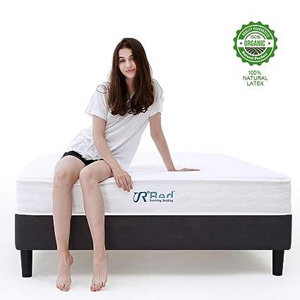 Amazon.com: Sunrising Bedding 8 inch Natural Latex Hybrid Mattress