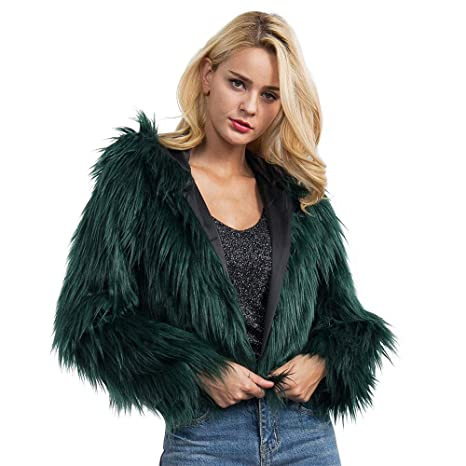 Amazon.com : Clearance Sale! Joint 2035 Winter New Ladies Warm Faux Fur Coat Jacket, Womens Solid Hooded Parka Outerwear Tops : Office Products