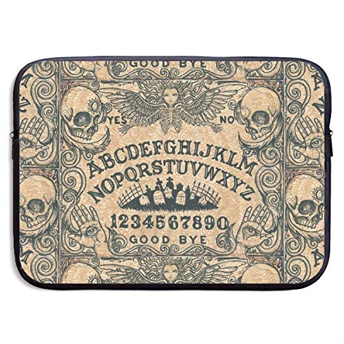 (Angel of Death Ouija Board Good Bye Laptop Sleeve Tote Bag Waterproof Soft Carrying Case Cover Bag for 13 Inch)