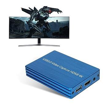 Tarjeta de captura de video, 4Kx2K HDMI a USB3.0 Grabadora ...