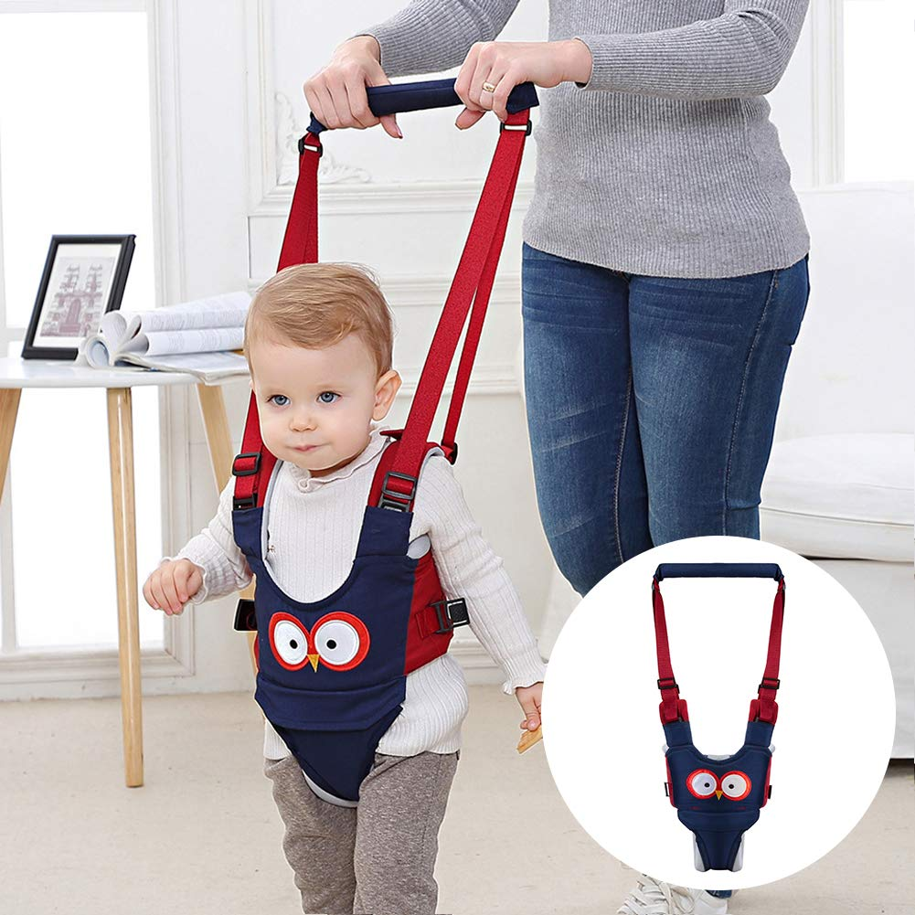 BESTEU Handheld Baby Walker Harness Assistant Ceinture de s/écurit/é pour la Marche