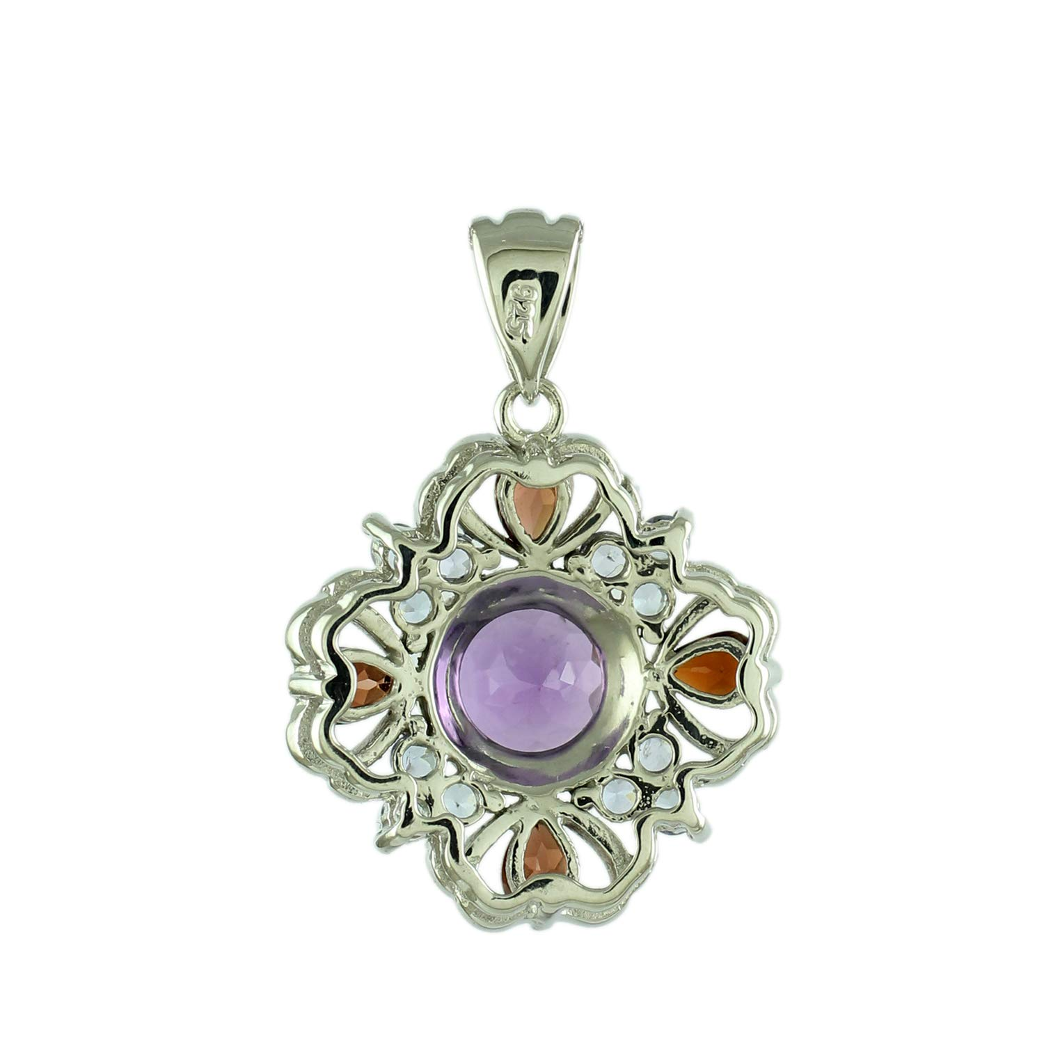 Pendant 925 Sterling Silver Engagement Jewelry