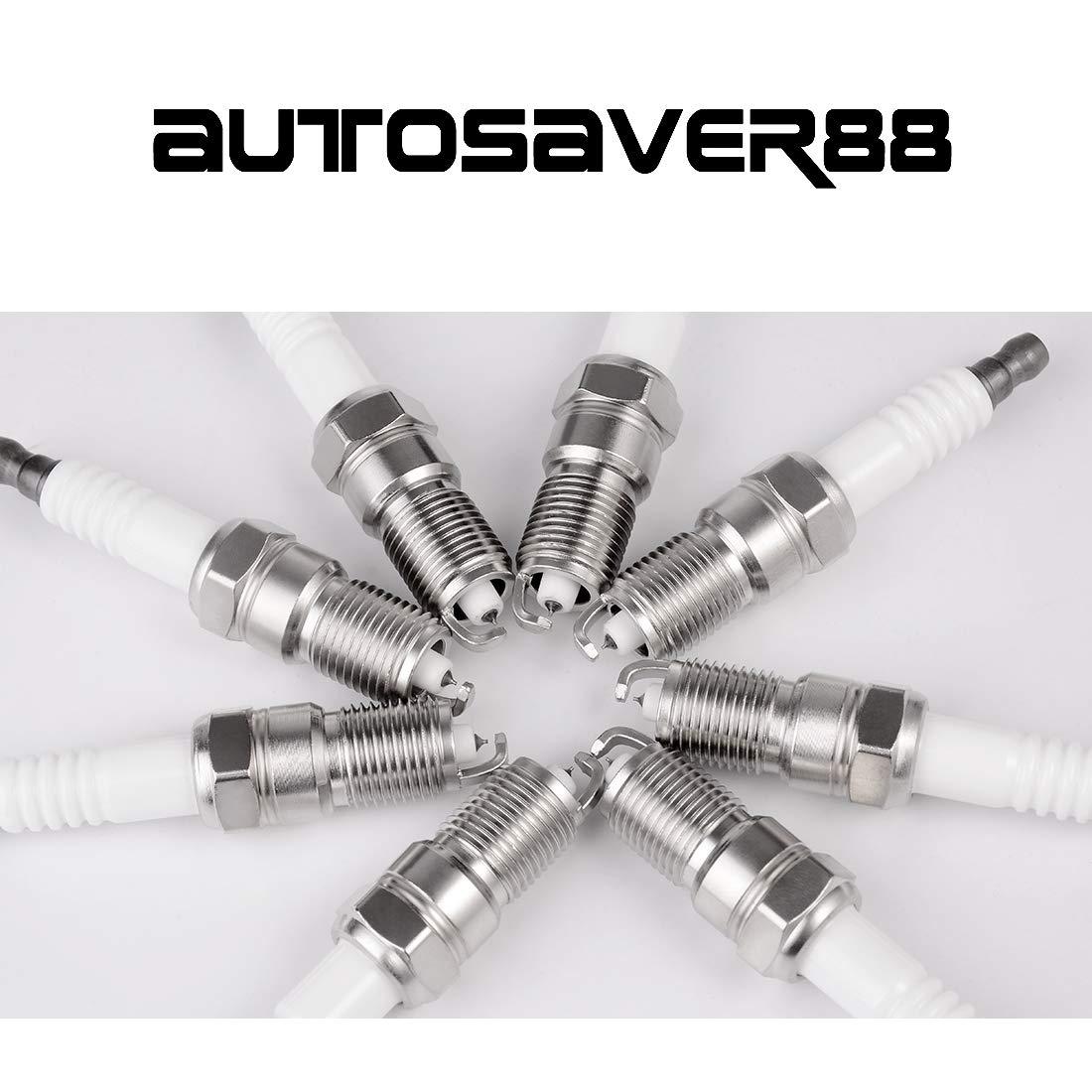 Amazon.com: Pack of 8 Iridium Spark Plugs for Buick Cadillac Chevy Ford GMC Hummer Mazda Mercury Pontiac: Automotive
