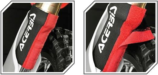 Acerbis 0016976 090 Faltenbalg Mit Klettverschluss Schwarz Einheitsgröße Auto