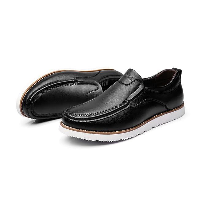 Cuir Ruiyue Vachette Hommes De Chaussures Mocassins Véritable w71IqB47