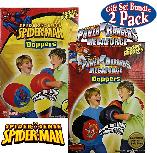 Big Time Toys Inflatable Socker Boppers Spider-Man vs. Power