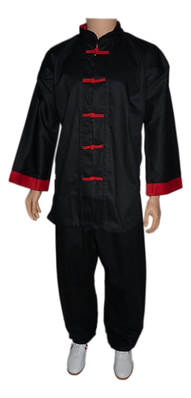 La Tortue de Jade tenue traditionnelle parement rouge ttpr-1.90