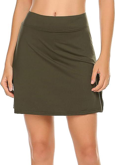 Ekouaer Women S Active Performance Skort Lightweight Skirt For