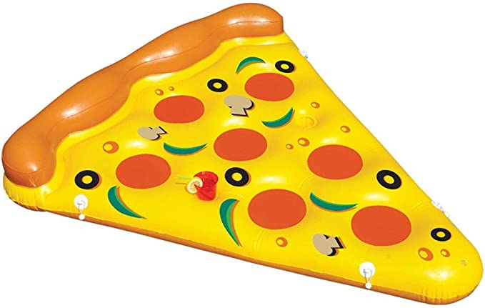 Swimline Inflatable Pizza Slice Pool Float