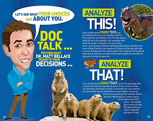 This or That? 2: More Wacky Choices to Reveal the Hidden You (National Geographic Kids) by National Geographic Society (Image #3)