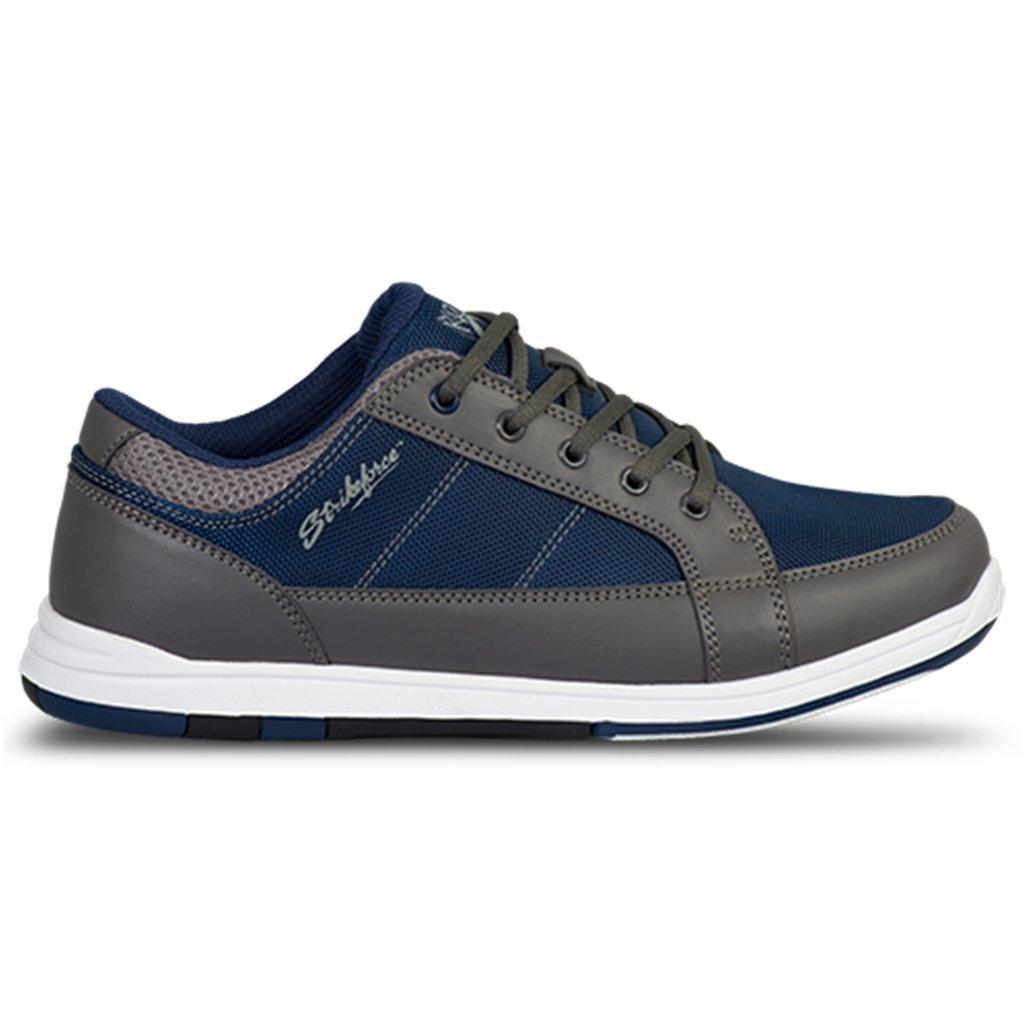 KR Strikeforce Men's Spartan Bowling Shoes, Dark Gray/Navy, Size 7
