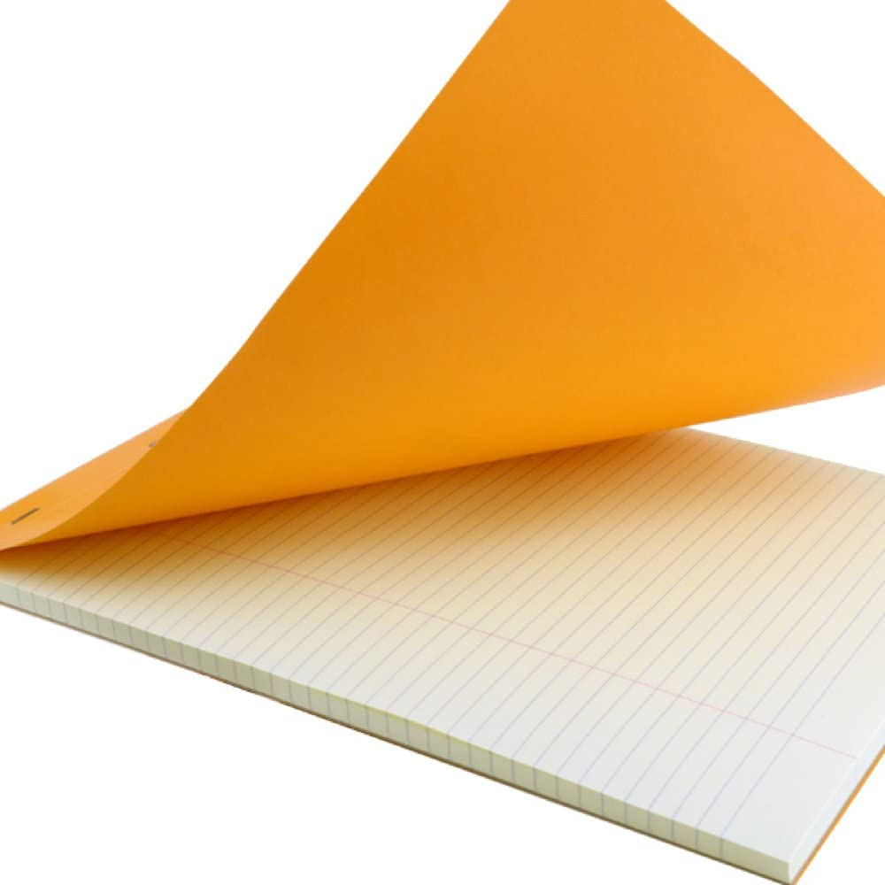Rhodia Classic Orange Notepad 8.25X12.5 Lined 10Pk