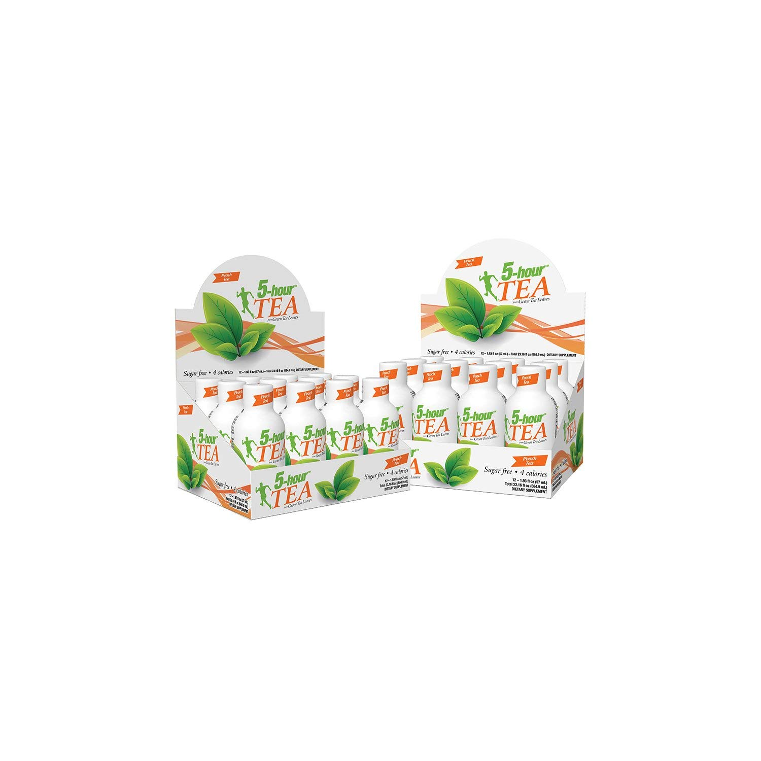 5-hour Green TEA - Peach Flavored - 24 Count by 5-Hours (Image #2)
