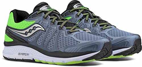huge selection of 5be5b dfca0 Saucony Echelon 6, Running Shoes, GreySlime, Size 6.5 UK