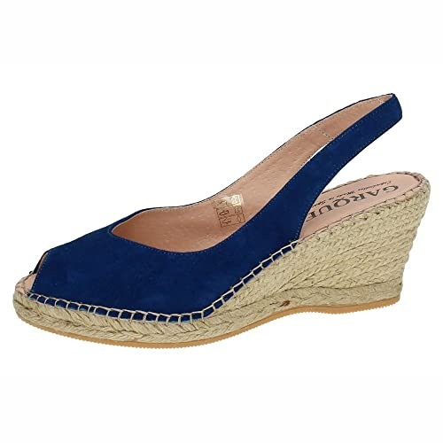 MADE IN SPAIN 400 Alpargatas con CUÑA Mujer Alpargatas: Amazon.es: Zapatos y complementos
