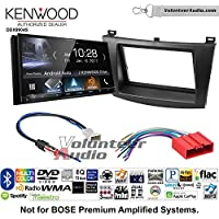 Volunteer Audio Kenwood DDX9904S Double Din Radio Install Kit with Apple CarPlay Android Auto Bluetooth Fits 2010-2013 Mazda 3