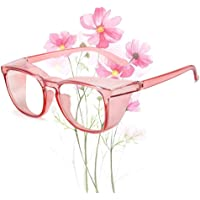 Safety Glasses Goggles Anti Fog Eye Protection Glasses Protective Goggles Pink