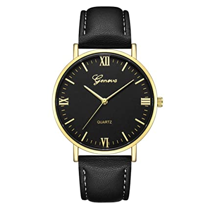 Iuhan Quartz Wrist Watch for Women Girls Ladies, Women Watches Leather Band Luxury Quartz Watches