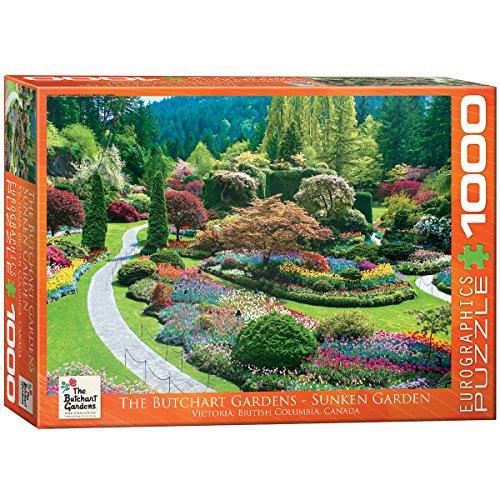 (EuroGraphics Butchart Gardens - Sunken Garden Jigsaw Puzzle (1000-Piece))