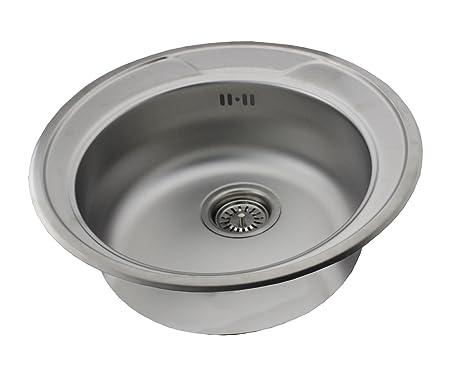 Edelstahl Kuchenspule Rundspule Waschbecken Einbauspule Spule Zub
