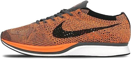 Melódico cobertura a lo largo  nike flyknit racer unisex running trainers 526628 sneakers shoes (uk 6.5 us  7.5 eu 40.5, total orange white dark grey 810): Amazon.co.uk: Shoes & Bags