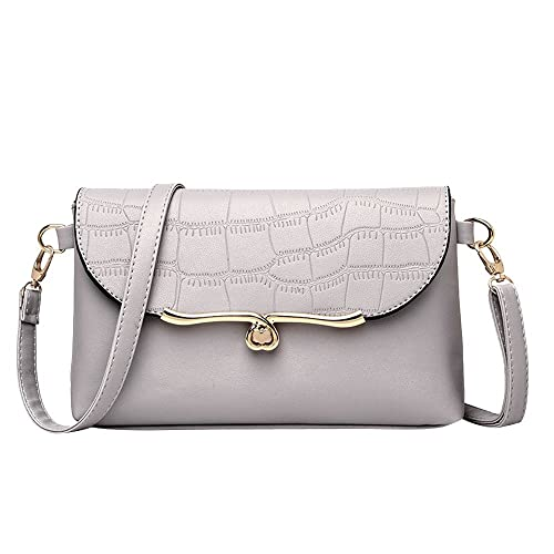 Vintage Women Stone Pattern Leather Crossbody Bag Messenger Bag Shoulder Bag womens handbags totes shoulder bags