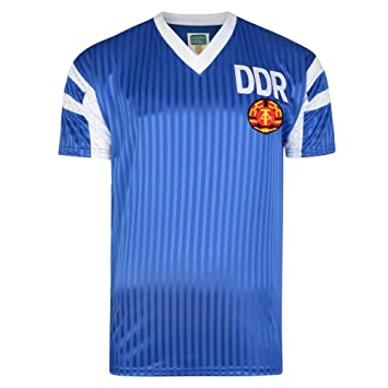 Score Draw DDR 1991 Football Soccer T-Shirt Camiseta: Amazon.es: Deportes y aire libre