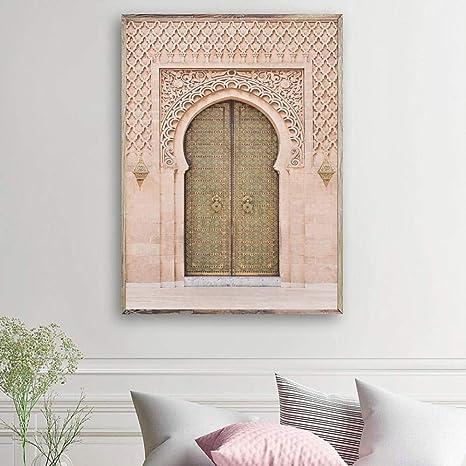 Suuyar Arte de la Pared Moderna Puerta Antigua Marruecos ...
